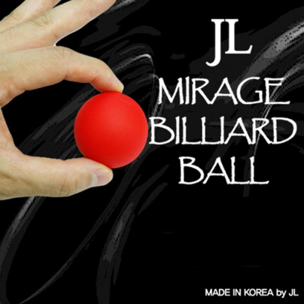 Mirage Billiard Balls by JL (RED, single ball only...