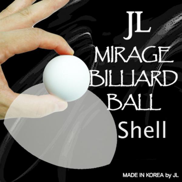 Mirage Billiard Balls by JL (WHITE, shell only)