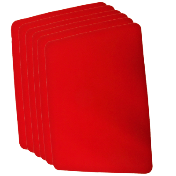Small Close Up Pad Red (8 inch x 10 inch) by Goshm...