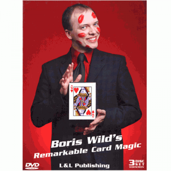 Remarkable Card Magic (3 Volume Set) by Boris Wild...