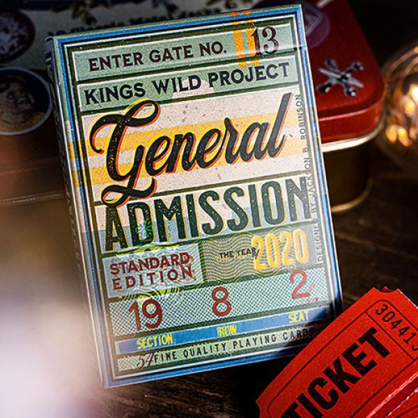 General Admission Playing Cards by Kings Wild Proj...