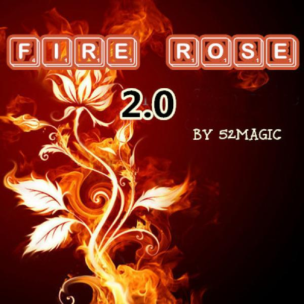The Fire Rose 2.0 - red