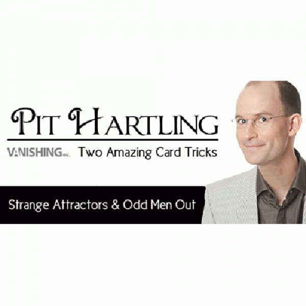 Two Amazing Card Tricks by Pit Hartling and Vanish...