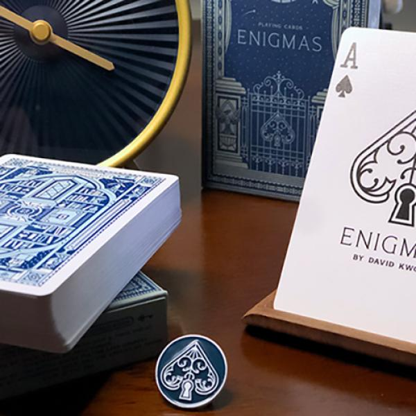 ENIGMAS Puzzle Hunt (Blue) Playing Cards