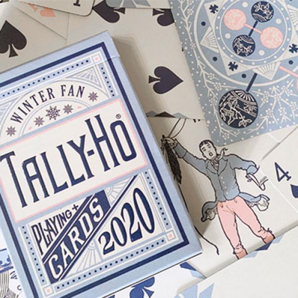 Tally Ho Winter Fan Playing Cards