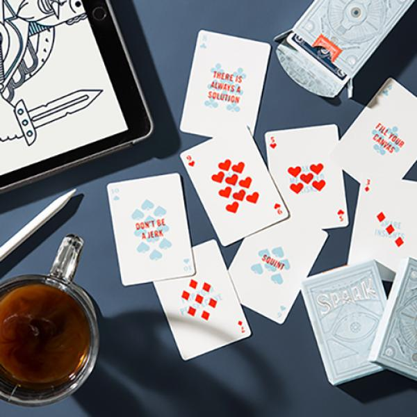 Spark Playing Cards by Art of Play