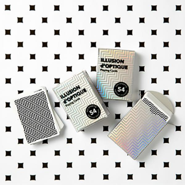 Illusion d'Optique Playing Cards by Art of Play