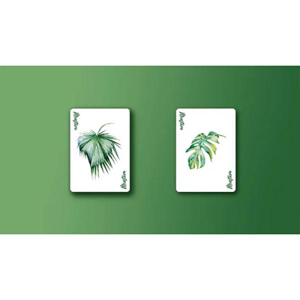 Monstera (Green) Playing Cards by TCC Presents