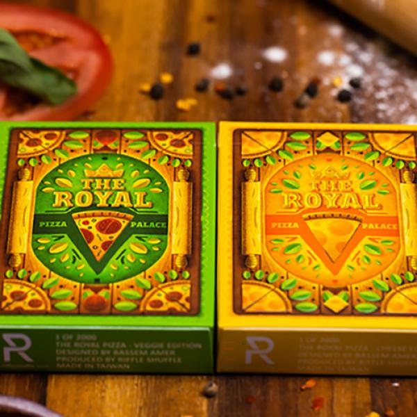 The Royal Pizza Palace Playing Cards Set by Riffle Shuffle