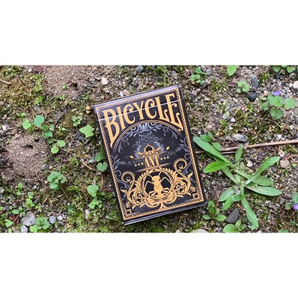Gilded Bicycle Ant (Gold) Playing Cards