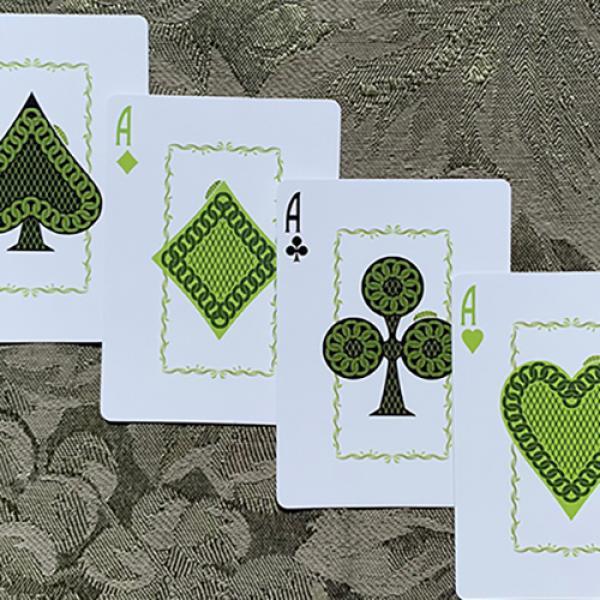 Gilded Bicycle (Light) Caterpillar Playing Cards