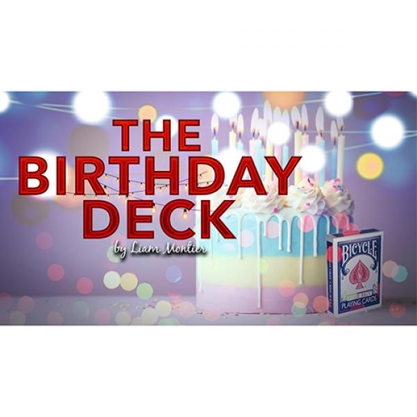 The Birthday Deck (Gimmicks and Online Instructions) by Liam Montier