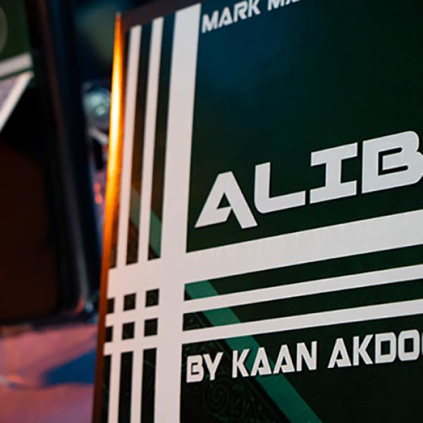 Alibi Blue (Gimmicks and Online Instructions) by Kaan Akdogan and Mark Mason