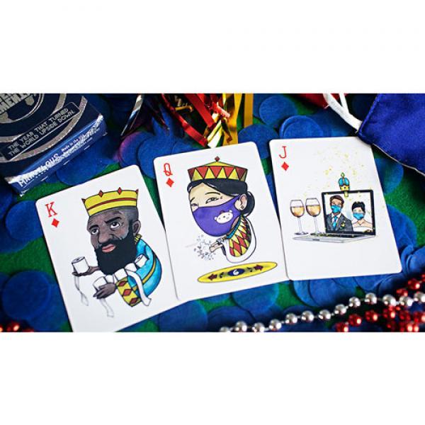 Marvelous Silver Twenty Twenty Playing Cards