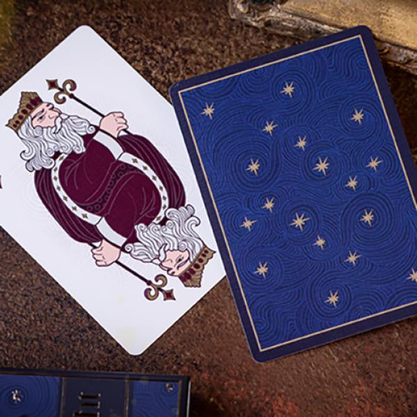 Elephant Playing Cards (Starry Night)