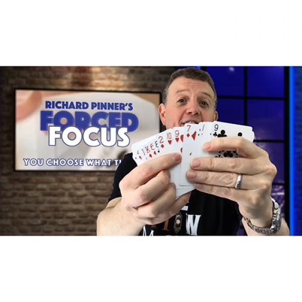 FORCED FOCUS BLUE by Richard Pinner