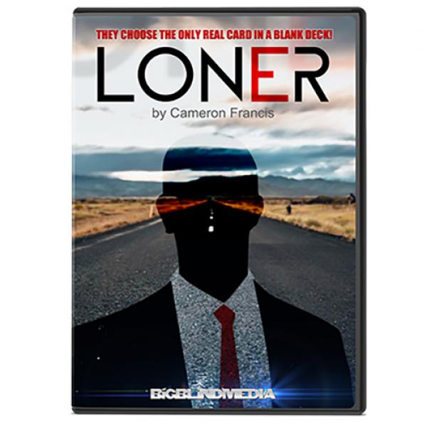 Loner Red (Gimmicks and Online Instructions) by Cameron Francis