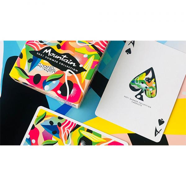 2021 Summer Collection: Mountain Gilded Playing Cards by CardCutz