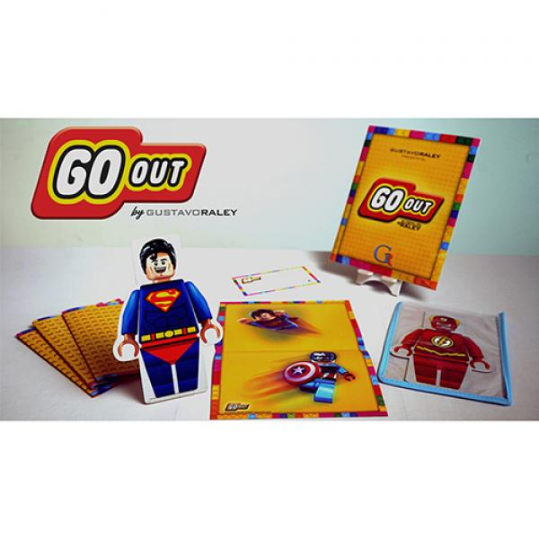 GO OUT (Gimmicks and Online Instructions) by Gustavo Raley